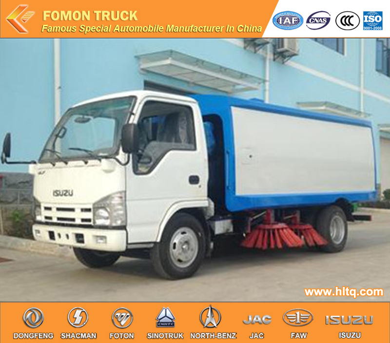 High quality Hot Sale in Africa JAPAN 600P 4x2 pavement sweeping truck