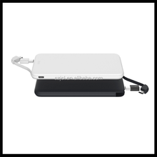 China Factory Supply Ultra Thin Card Power Bank 5000mah External Portable Rohs Power Banks