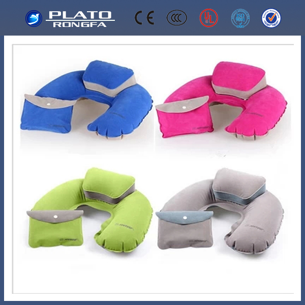 2014 Competitive Price baby pillow,Good Quality Pvc Flocked Inflatable Pillow,automatic inflatable pillow