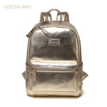 Colorland Diaper Bag Backpack Waterproof Leather Large Capacity Insulated Travel Back Pack Nappy Bags Organizer, Multi-Function,