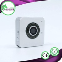 CHEAPEST EP-704 body worn police camera for iOS and Android System Support TF Card HD WIFI IP Camera