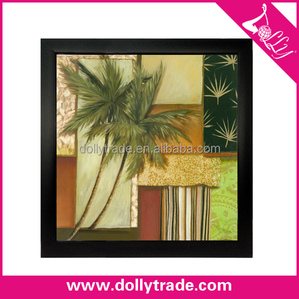 Wall Art Decor Famous Black Frame Abstract Paintings