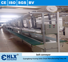 Hlx Equipements Steel Frame Logistics Used Belt Conveyor / Adjustable / Inclined / Reversible