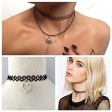 Vintage vintage stretch tattoo necklace with great price