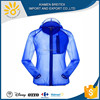 2016 Hot sales man waterproof polyester anti UV windbreaker jacket