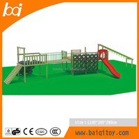 Outdoor Wooden Playground Material kids play house