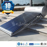 Top product solar water for home use compact No Pressurized soalr water price