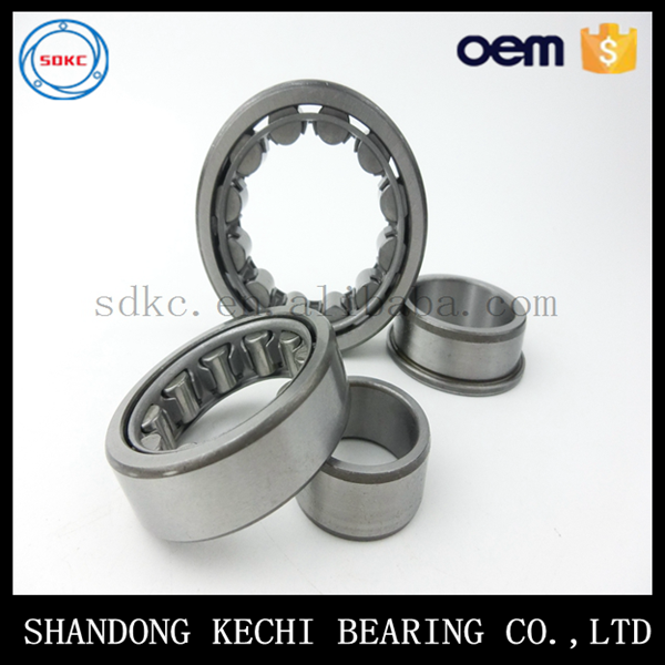 China supplier high precision low price cylindrical roller bearing NU204