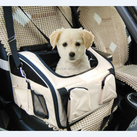 Pet car seat carrier dog cat carrier bag 3 in 1