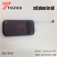 2015 tozed high quality mobile phone GSM Cell Senior Phone