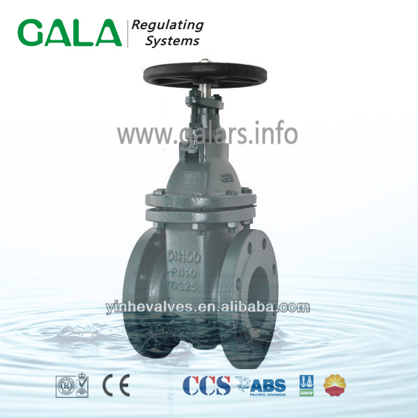 BS 3464 NRS flanged different type of large diameter gate valve, gate valve irrigation