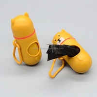 Closure Dog Poop Bag Dispenser Cute Design
