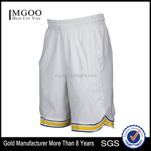 Mens Basketball On Court Shorts with Recycled Poly Span Taffeta Custom Team Logo Graphic Shorts Manufacturer