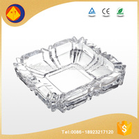 Low price eco-friendly ISO fancy shape covered ashtrays for home