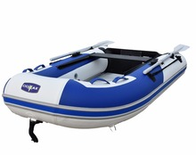 V-Keel Bottom Inflatable Dinghy Raft Sport Yacht Tender Fishing Raft Aluminum Floor Portable inflatable Boat