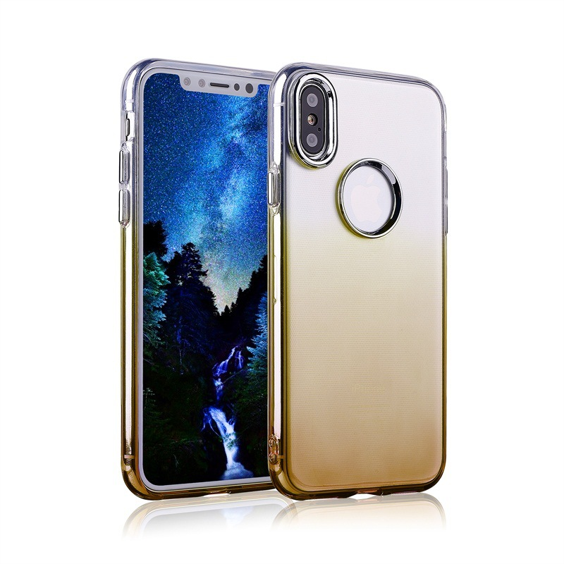 Luxury Changeable Color Phone Case Bling Bling Case For iphone X