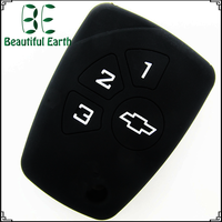 hot products to sell online Colorful chose good looking For Chevrolet 3+1 button silicone remote key cover machine copy keys use