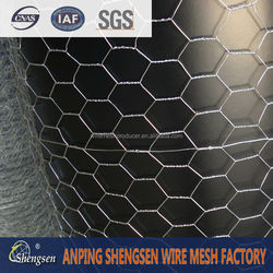 hot galvanized hexagonal wire mesh