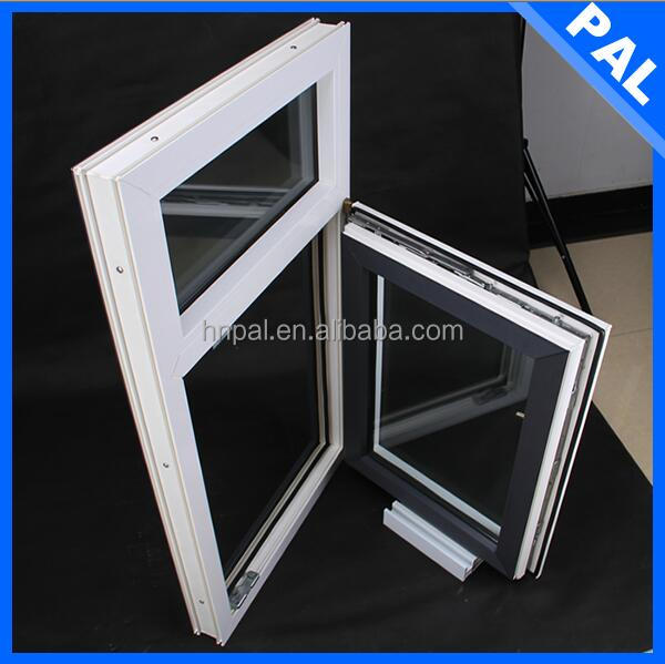 Austrilia energy saving recycling pvc window frames with rubber sealing