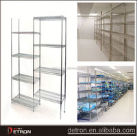 layering portable heavy duty hosipital wire shelf
