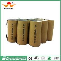 rechargeable 1.2v ni-cd sc1800mah power tool battery