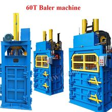 Plastic Metal Scrap garbage compressor compactor Hydraulic baler machine