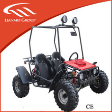outdoor sports 110cc 4 stroke go kart with two seat and fine quality for hot sale made in china