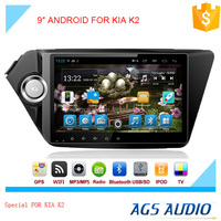 New 9 inch Android 4.2 Car GPS Navigation dvd Player for KIA K2