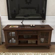 F50659A-1 Italian modern tv cabinet living room furniture designs wooden led tv stands