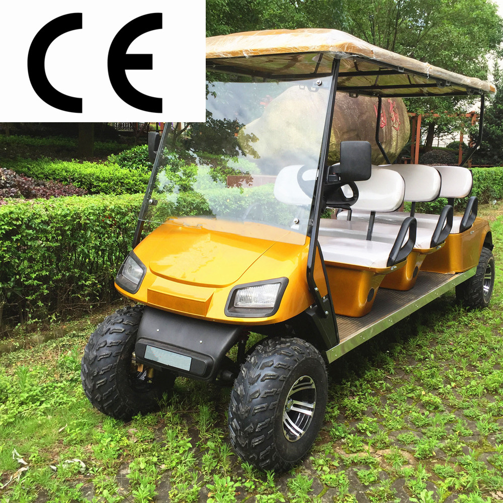 6seat cheap electric dune buggy hot sale