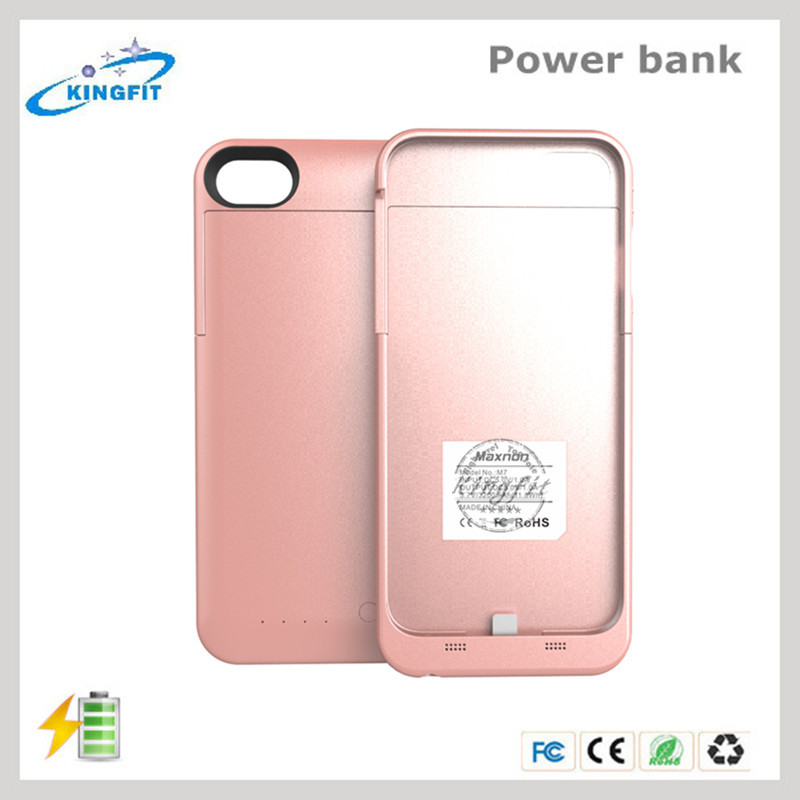 New Charging Power Bank Battery Case For Iphone7