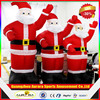 Customized inflatable Santa Claus model with factory lower price