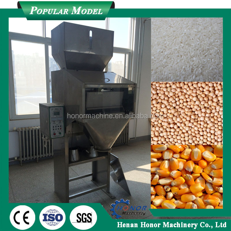 25KG Automatic Double Head Packing Machine Pulm Weighing And Packing Machine