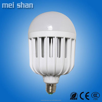 pure white 18w good quality inner Aluminum heatsink and Plastic cover lamp LED bulb light