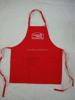65%polyester35%Cotton twill kitchen apron &printed bib apron,(adjustable neck strip,front pocket and logo available)lock lock