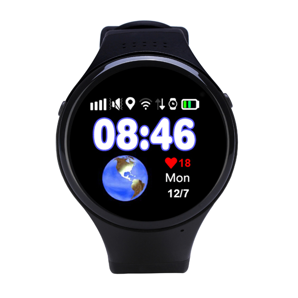 China manufacturer 2g wifi gps tracker SOS wrist smart watch for elderly
