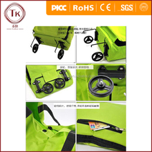 Polyester Foldable Supermarket Trolley Bag, Shopping Cart
