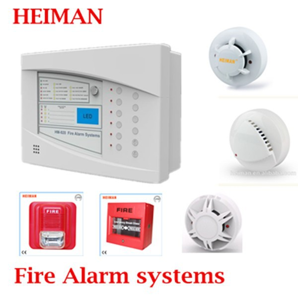2018 new 4 zones 2 wire Fire alarm systems / control panel HM-920FY-4