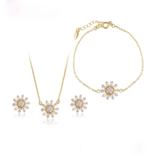 Free Sample 64682 xuping chinese gold jewelry set, american diamond jewellery sets, indian jewelry sets gold plated
