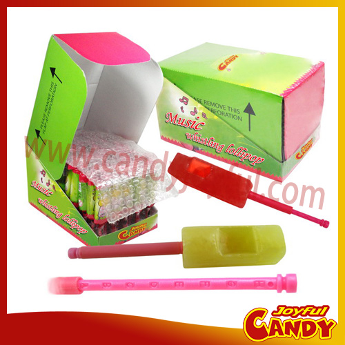 JF4014 Music whistle lollipop