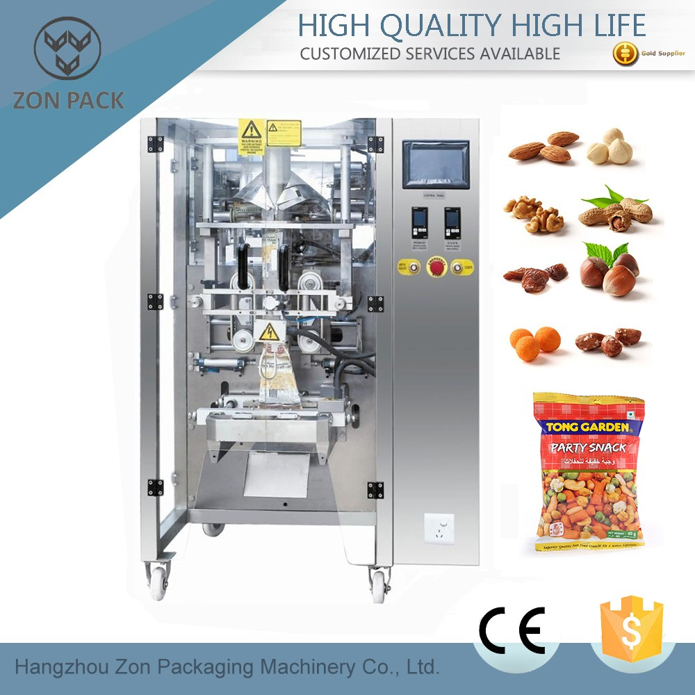 Automatic snack packing machine manufacturer in china