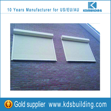 save place modern popular design rolling window shutter in pearl white