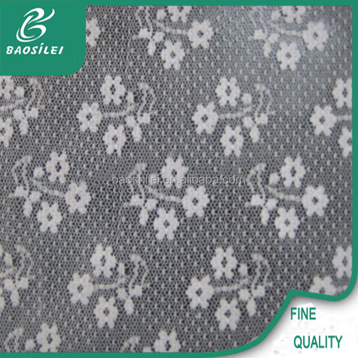 bestway swiss cotton polyester spandex lace fabric price per yard