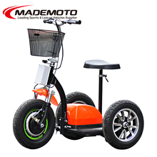 350/500w separate control box chariot electric scooter having good sense
