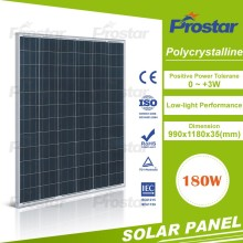 A grade 12v 180w solar panel module for solar power 180w kit Poly Solar Module