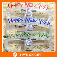 2014 new year party glasses, led party glasses, crazy party glasses