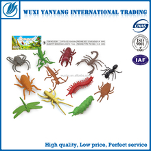 Simulation plastic animal toys small flying insect toys 14 IN 1