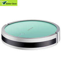 Intelligent mini automatic robot vacuum cleaner with mop fprwet mopping