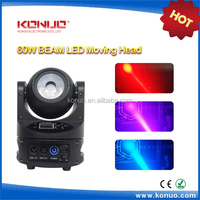 Pro stage light supplier 60w led endless rotating stage light