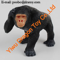 3D Plastic small animals plastic toys for kid